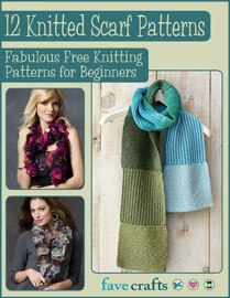 12 Knitted Scarf Patterns: Fabulous Free Knitting Patterns for Beginners book