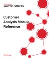 Customer Analysis Module Reference For MicroStrategy 95