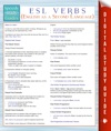 ESL Verbs English As A Second Language Speedy Study Guides