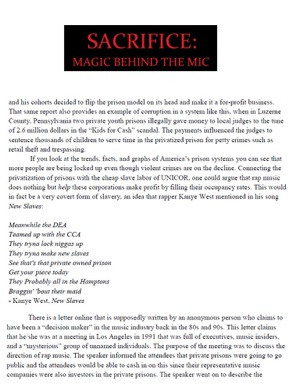 Sacrifice: Magic Behind the Mic on Apple Books