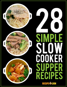 28 Simple Slow Cooker Supper Recipes Book Review