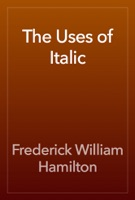 The Uses of Italic