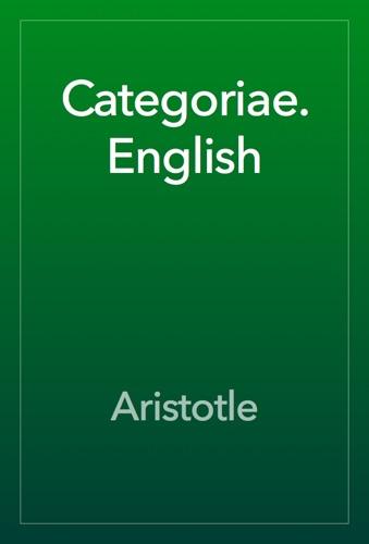 Categoriae. English