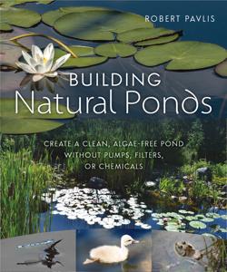 Building Natural Ponds La couverture du livre martien