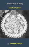 Doilies Are In Again Doily Vintage Crochet Pattern EBook