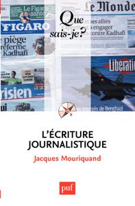 L'écriture journalistique La couverture du livre martien