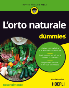 L'orto naturale for dummies Copertina del libro