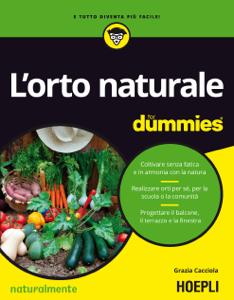 L'orto naturale for dummies Copertina del libro