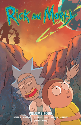 Rick and Morty Vol. 4 - Kyle Starks book