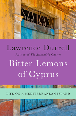 Bitter Lemons of Cyprus - Lawrence Durrell book