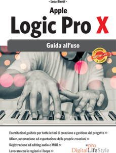 Apple Logic Pro X  2 ed. Copertina del libro