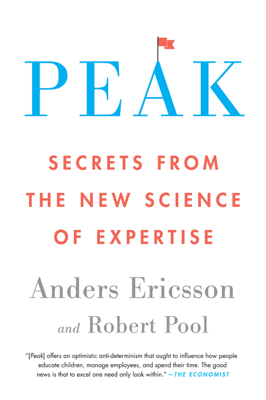 Peak - Anders Ericsson & Robert Pool book