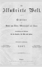 Die Illustrirte Welt (1867)