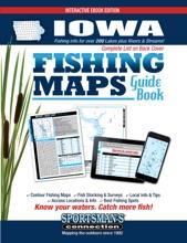 Iowa Fishing Maps Guide Book