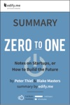 Summary Zero To One By Peter Thiel  Blake Masters