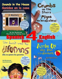 4 Spanish English Books For Kids Cuatro Libros Biling Es Para Ni Os
