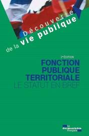 FONCTION PUBLIQUE TERRITORIALE - 2E éDITION