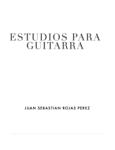Estudios para guitarra