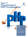 Year 11 Programming In  PHP 5 Fundamentals