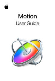 Motion User Guide book