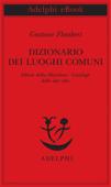 Dizionario dei luoghi comuni - Album della Marchesa - Catalogo delle idee chic Book Cover