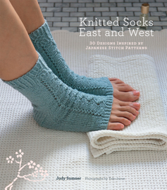Knitted Socks East and West book