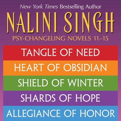 Nalini Singh: The Psy-Changeling Series Books 11-15 pdf Download