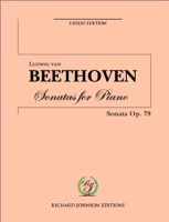 Beethoven Piano Sonata No. 25 Op.79