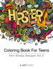 Art Therapy Coloring - Coloring Book For Teens  artwork