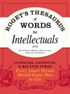 Rogets Thesaurus Of Words For Intellectuals
