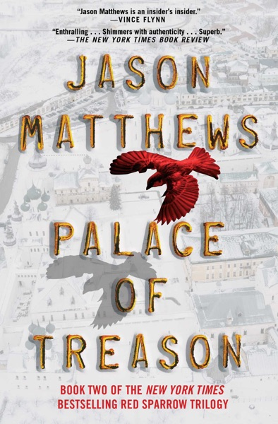 Palace of Treason - Jason Matthews book cover