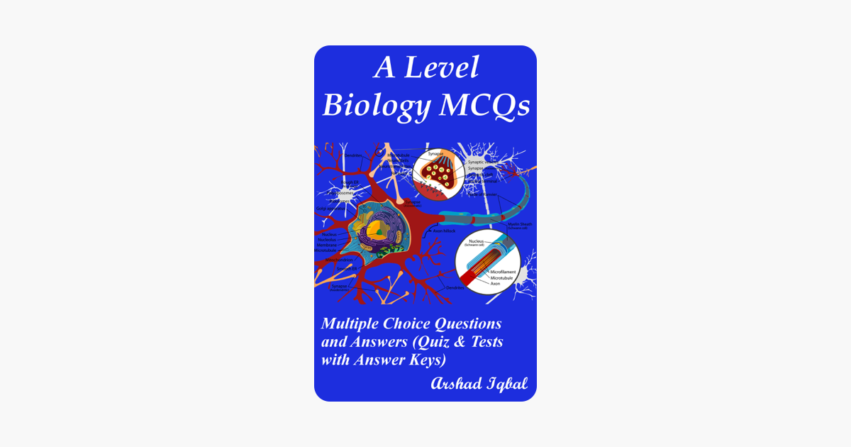 ‎A Level Biology MCQs: Multiple Choice Questions and Answers (Quiz & Tests  with Answer Keys)