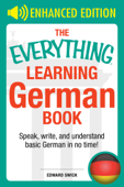 The Everything Learning German Book Book Cover