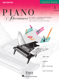 Piano Adventures  - Level 1 Theory Book