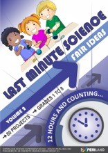 Last Minute Science Fair Ideas: Vol 2 – 12 Hours & Counting…