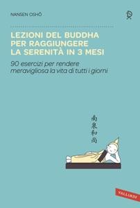 Lezioni del Buddha per raggiungere la serenità in 3 mesi Book Cover