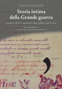 Storia intima della Grande guerra Copertina del libro