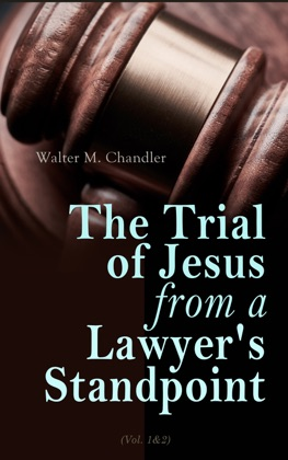 The Trial of Jesus from a Lawyer's Standpoint (Vol. 1&2) image