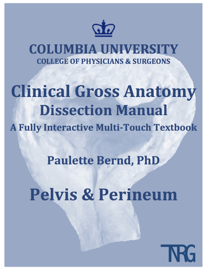 Pelvis & Perineum: Columbia University Clinical Gross Anatomy Dissection Manual