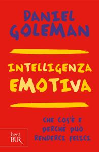 Intelligenza emotiva Copertina del libro