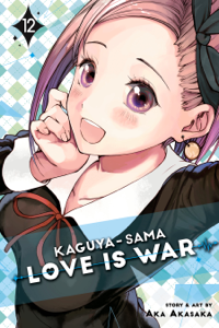 Kaguya-sama: Love Is War, Vol. 12 Copertina del libro