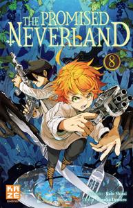 The Promised Neverland T08 La couverture du livre martien