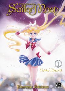 Sailor Moon Eternal Edition T01 La couverture du livre martien