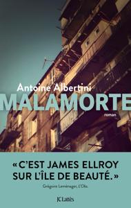 Malamorte La couverture du livre martien