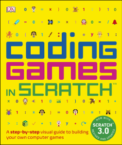 Coding Games in Scratch Book Cover