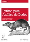Python para análise de dados Book Cover