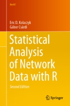 Statistical Analysis Of Network Data With R