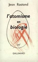 L'atomisme en biologie