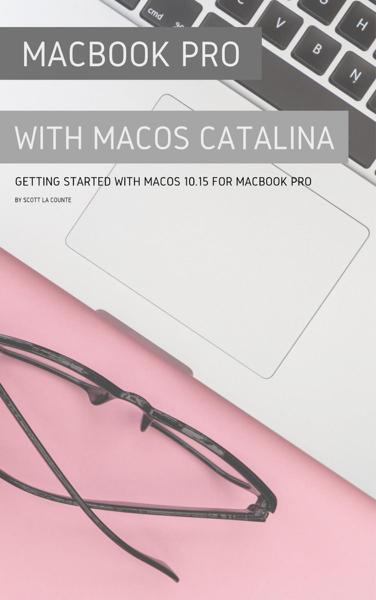 MacBook Pro with MacOS Catalina