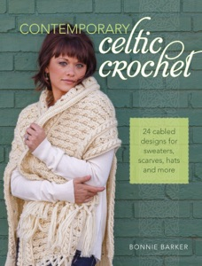 Contemporary Celtic Crochet Book Cover